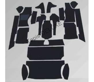 Complete interior carpet kit for Audi Quattro Urquattro 20V 220PS with safety roll cage (only LHD)