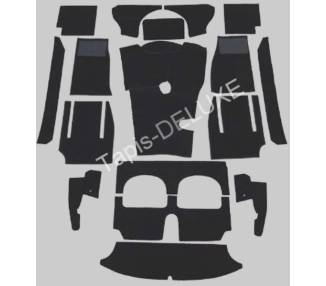 Complete interior carpet kit for Austin Healey BJ8 - 3000 MkIII phase 1 from 1963-1964 (only LHD)