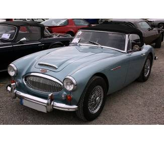 Complete interior carpet kit for Austin Healey BJ8 - 3000 MkIII phase 2 from 1964-1967 (only LHD)