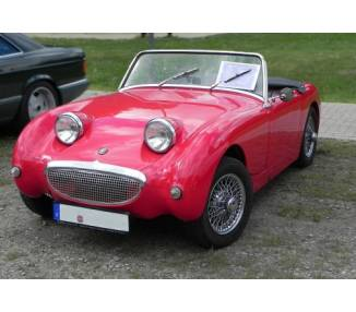 Complete interior carpet kit for Austin Healey Sprite MK I from 1958-1971 (only LHD)