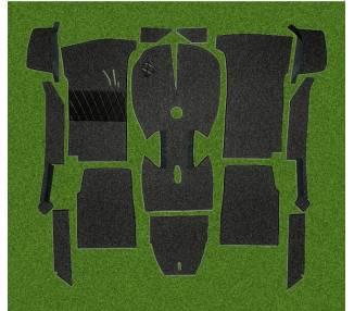 Moquette de sol pour BMW 1600 - 1800 - 2000 et tii Touring avec coffre
