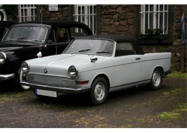 BMW 700 Cabrio from 1961-1964 (only LHD)