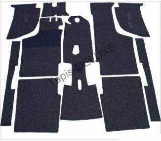 Complete interior carpet kit for BMW 700 LS from 1959-1965 (only LHD)