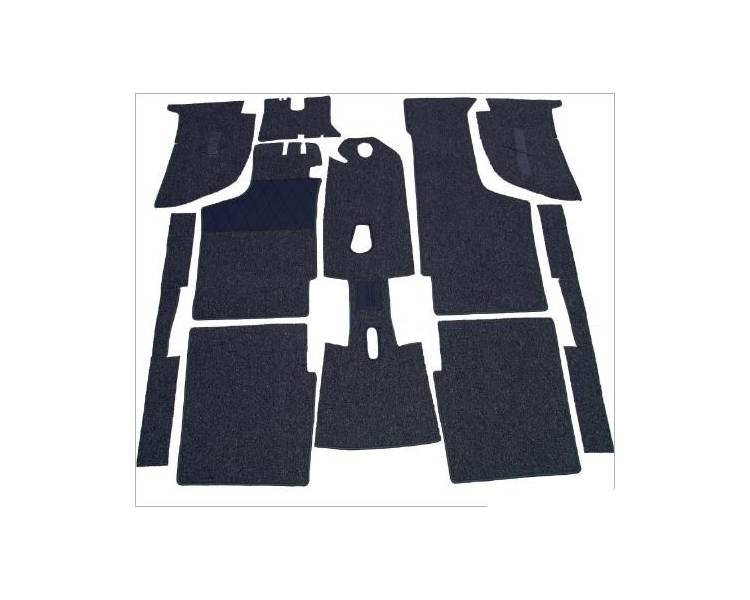 Complete interior carpet kit for BMW E21 from 1975-1983 (only LHD)