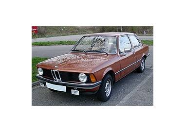 BMW E21 from 1975-1983 (only LHD)