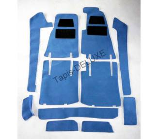 Complete interior carpet kit for Ferrari 400i / 400GT (only LHD)
