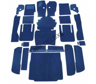 Complete interior carpet kit for Lamborghini Espada series III from 1968-1978 (only LHD)