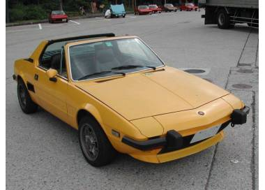 Fiat X 1/9 from 1972-1989 (only LHD)
