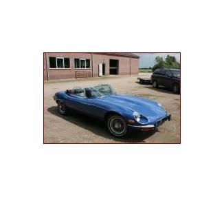 Moquette de sol pour Jaguar E-Type Serie 3 Roadster + Coffre V12 1971-1974