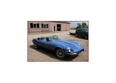 Jaguar E-Type series 3 Roadster with trunk carpet V12 1971-1974 (only LHD)