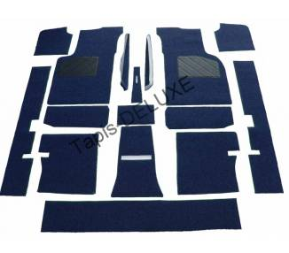Complete interior carpet kit for Lancia Beta Spider from 1974-1979 (only LHD)