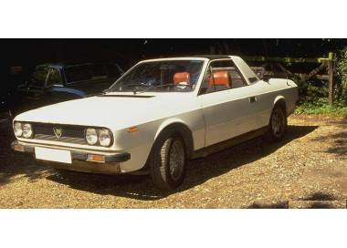 Lancia Beta Spider from 1974-1979 (only LHD)