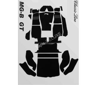 Moquette de sol pour MG B GT 1965-1980
