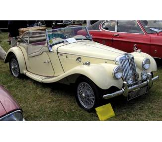 Complete interior carpet kit for MG TF from 1953–1955 (LHD or RHD)