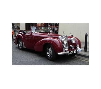 Moquette de sol pour Triumph Roadster 1800 / TR 2000 1946-1949