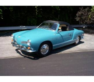 Complete interior carpet kit for Karmann Ghia cabriolet type 14 from 1955-1974 (only LHD)