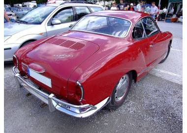 Karmann Ghia coupé type 14 with trunk from 1955-1974 (only LHD)