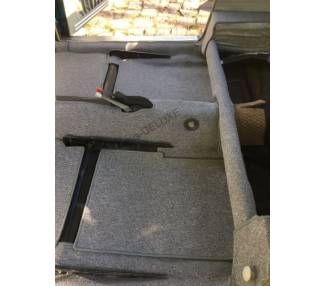 Complete interior carpet kit for Karmann Ghia coupé type 14 from 1955-1974 (only LHD)