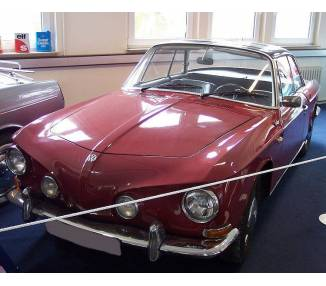 Complete interior carpet kit for Karmann Ghia type 34 from 1961-1969 (only LHD)