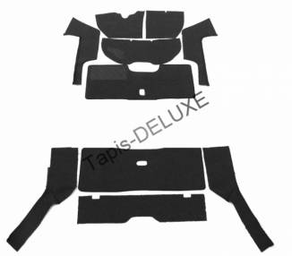 Complete interior carpet kit for VW K70 from 1970-1975 (only LHD)