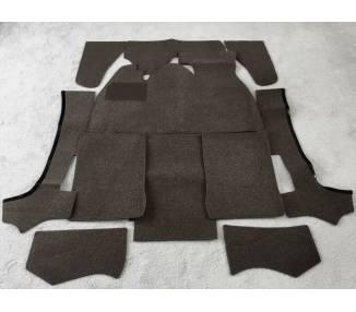 Complete interior carpet kit for VW Käfer 1303 cabriolet (only LHD)
