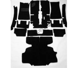 Complete interior carpet kit for Datsun 240 Z and 260 Z from 1971-1974 (only LHD)