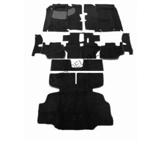 Complete interior carpet kit for Datsun 280 Z from 1969-1978 (only LHD)