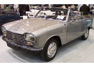 Peugeot 204 cabriolet from 1966-1970 (only LHD)