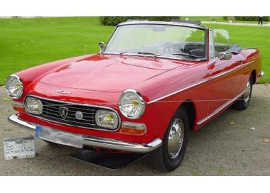 Peugeot 404 coupé/cabriolet from 1960-1975 (only LHD)