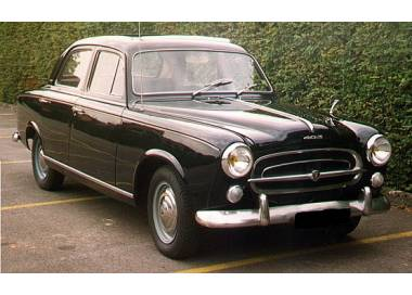 Peugeot 403 limousine from 1955-1967 (only LHD)