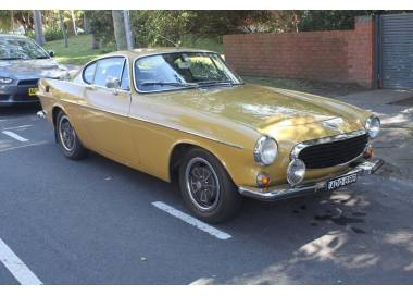 Volvo P1800 - 1800E coupé from 1969-1972 (only LHD)