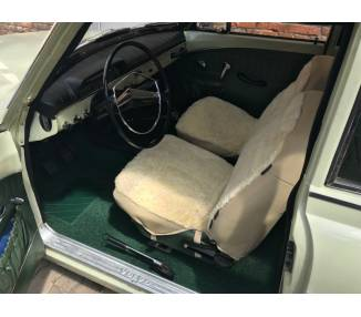 Complete interior carpet kit for Volvo Amazon P121/P122/P122S from 1956-1970 (only LHD)