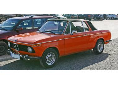 BMW 2002 Baur Targa from 1971-1975 (only LHD)