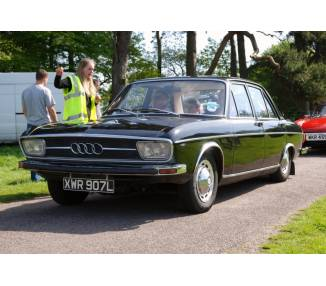 Complete interior carpet kit for Audi 100 Type C1 limousine from 1968-1976 (only LHD)