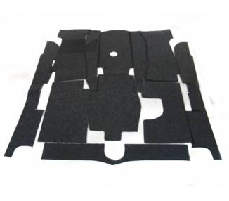 Complete interior carpet kit for BMW 3200 CS Bertone 1962-1965 (only LHD)