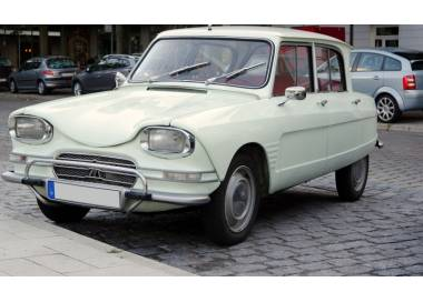 Citroën AMI 6 from 1961-1969 (only LHD)