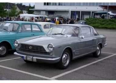 Fiat 2300 coupé S 1961–1968 trunk carpet (only LHD)