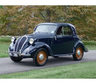 Complete interior carpet kit for Fiat Topolino A from 1936-1948 (only LHD)