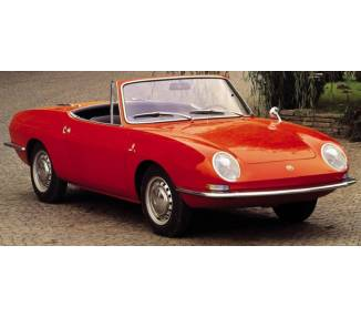 Complete interior carpet kit for Fiat 850 Spider without soft top case 1963-1973 (only LHD)