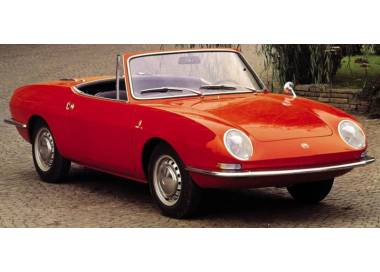 Fiat 850 Spider without soft top case 1963-1973 (only LHD)