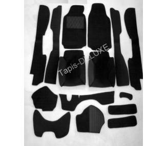 Complete interior carpet kit for Fiat Dino 2400 Coupé from 1969-1972 (only LHD)