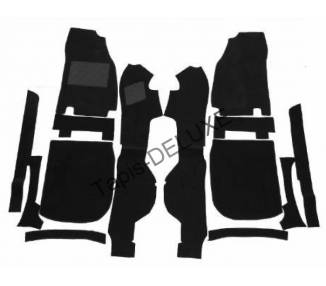 Complete interior carpet kit for Ford Capri 2+3 1974-1986