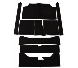 Complete interior carpet kit for Ford Fiesta MK1 et MK2 from 1976-1989 (only LHD)