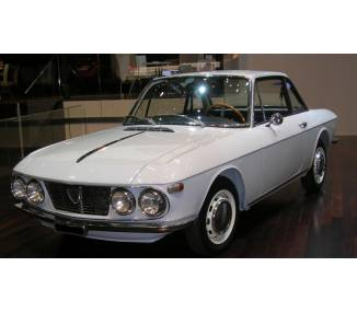 Complete interior carpet kit for Lancia Fulvia coupé series 1 from 1963-1969 (only LHD)