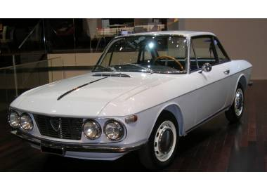 Lancia Fulvia coupé series 1 1963-1969 trunk carpet (only LHD)