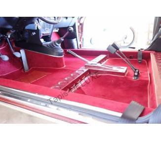 Complete interior carpet kit for Lancia Fulvia coupé series 2 from 1969-1976 (only LHD)