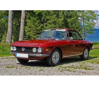 Trunk carpet for Lancia Fulvia coupé series 2 from 1969-1976 (only LHD)