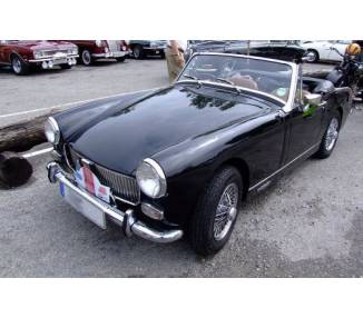 Trunk carpet for MG Midget Mark I-IV from 1977-1979 (only LHD)
