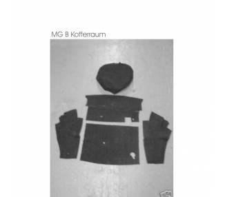 Moquette de coffre pour MG B 1962-1980