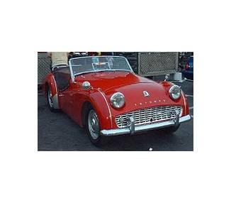 Moquette de sol pour Triumph TR3a 1955-1962 à partir du numéro de chassis 60.001